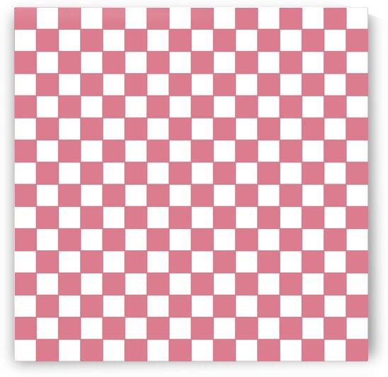 Baby Pink Check Pattern by rizu_designs