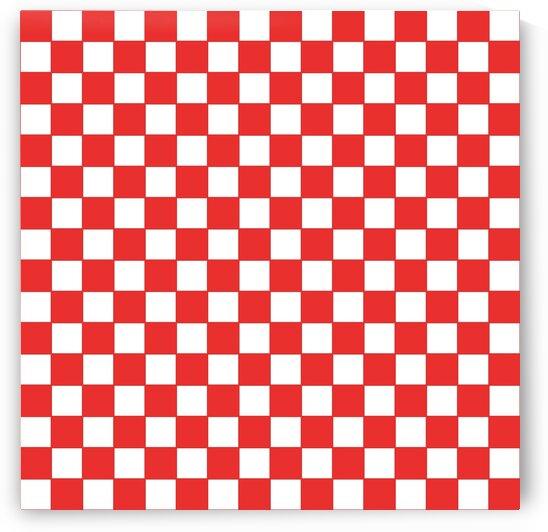 Red Check Pattern by rizu_designs