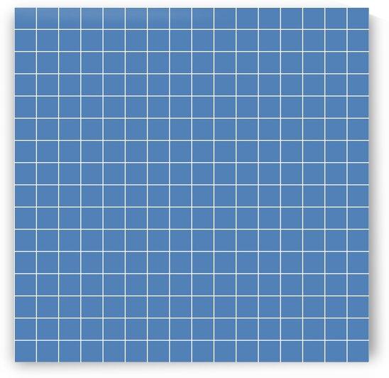 Blue Check Line Pattern by rizu_designs