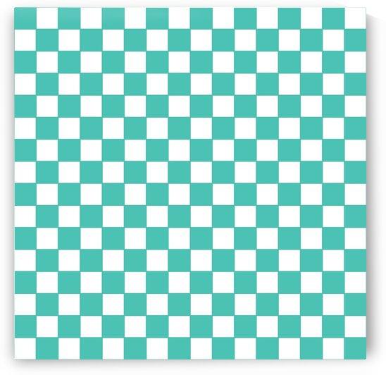Green Check Pattern by rizu_designs