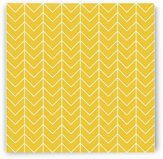 Lemon Chevron Pattern by rizu_designs