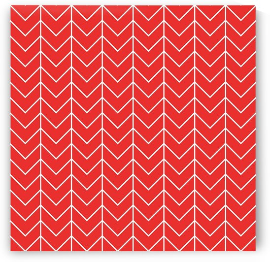 Orange Chevron Pattern by rizu_designs