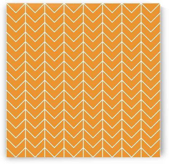 Yellow Chevron Pattern by rizu_designs