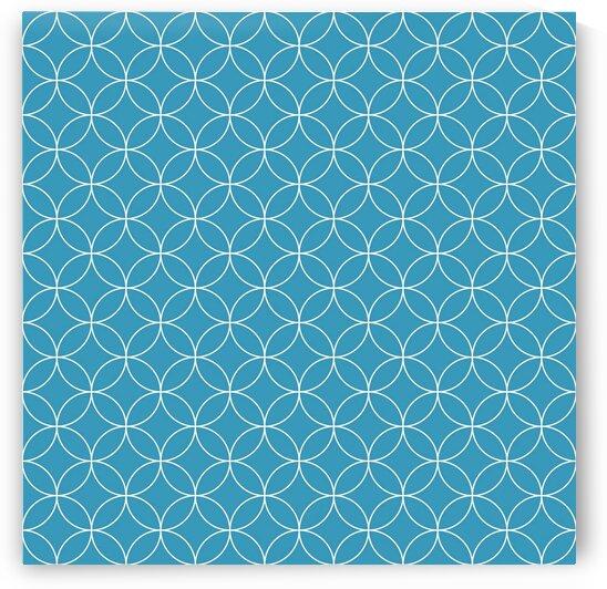 Blue Circle Pattern by rizu_designs