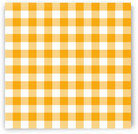 Yellow Plaid Pattern by rizu_designs