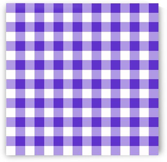 Purple Plaid Pattern by rizu_designs