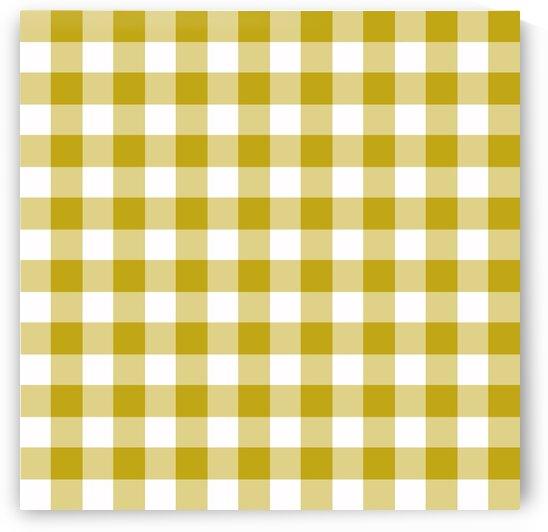 Mustard Plaid Pattern by rizu_designs