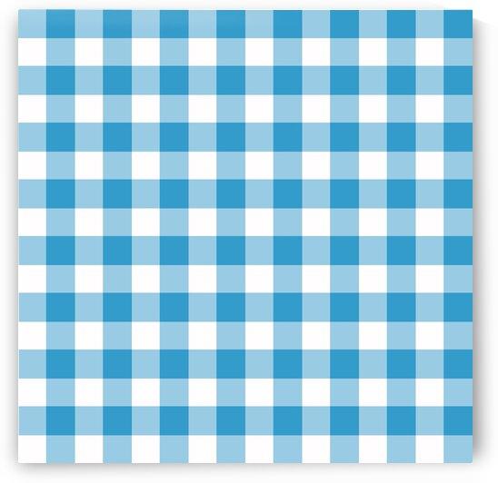 Light Blue Plaid Pattern by rizu_designs