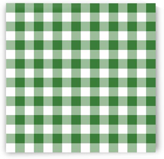 Green Plaid Pattern by rizu_designs
