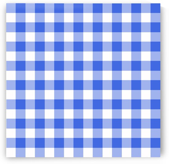 Blue Plaid Pattern by rizu_designs
