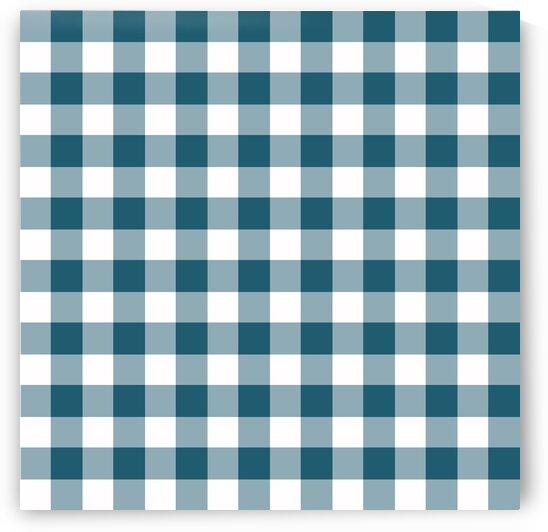 Greenish Blue Plaid Pattern by rizu_designs