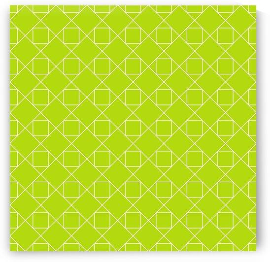 Light Green Diamonds Pattern  by rizu_designs