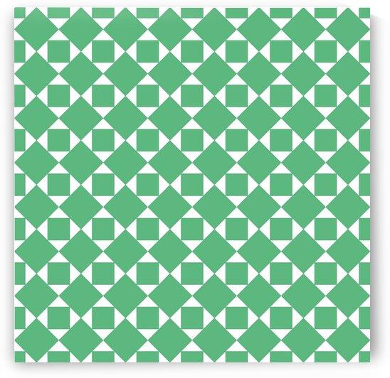 Green Geometric Pattern by rizu_designs
