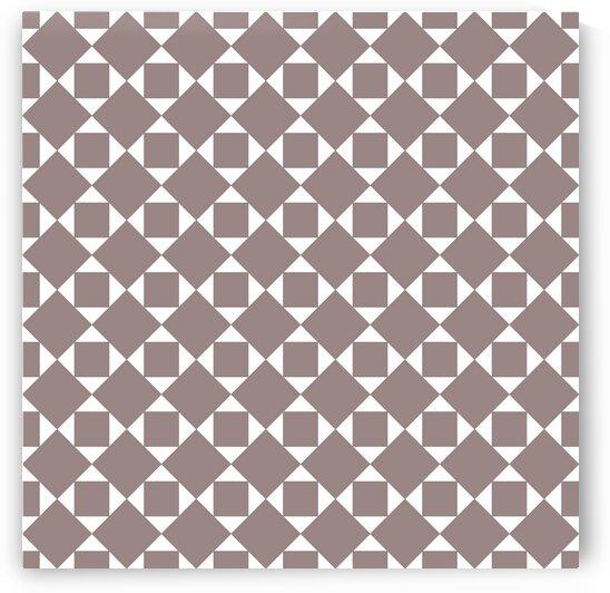 Light Brown Geometric Pattern by rizu_designs