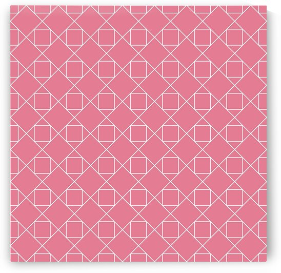Baby Pink Small Diamonds Pattern by rizu_designs