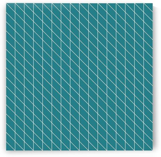 Cyan Checkers Pattern by rizu_designs