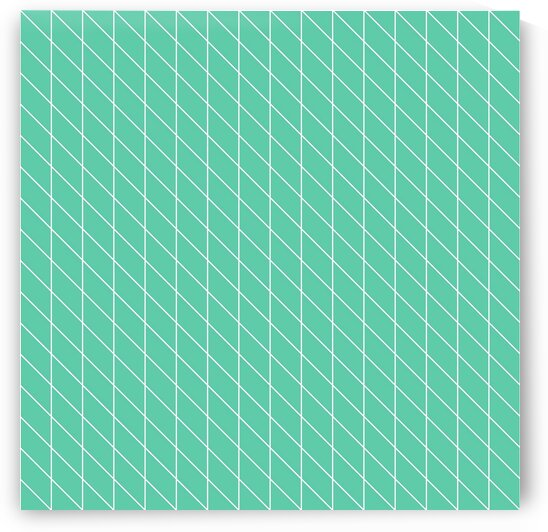 Aquamarine Checkers Pattern by rizu_designs