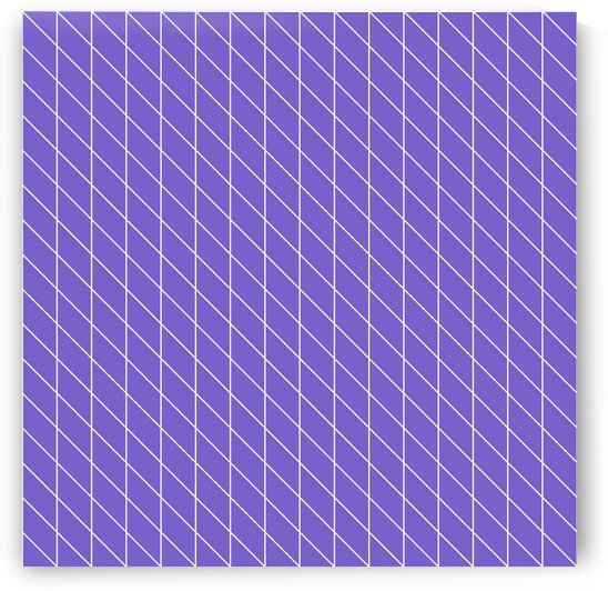 Eggplant Check Pattern by rizu_designs