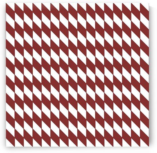 Dark Maroon Checkers Pattern by rizu_designs