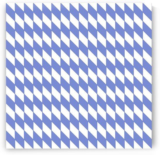 Blue Checkers Pattern by rizu_designs
