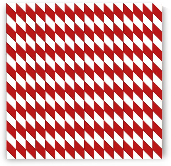 Red Checkers Pattern by rizu_designs
