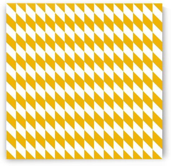 Yellow Checkers Pattern by rizu_designs