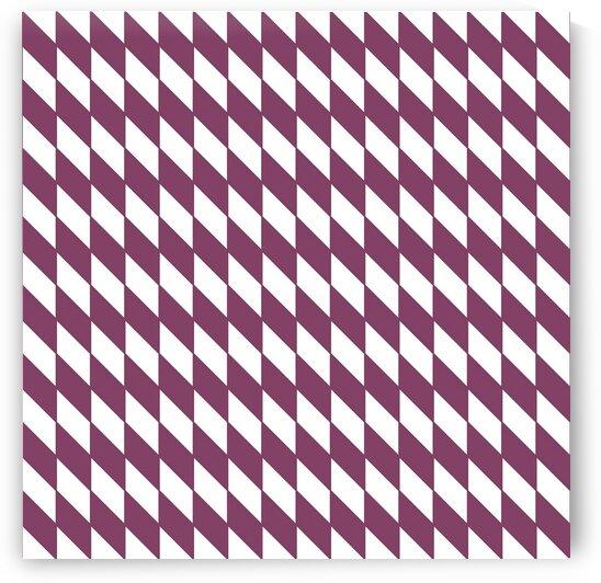 Carmine Checker Pattern by rizu_designs