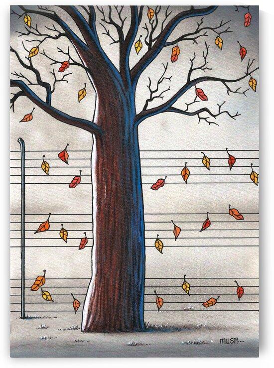 Autumn leaves. by Musa GUMUS