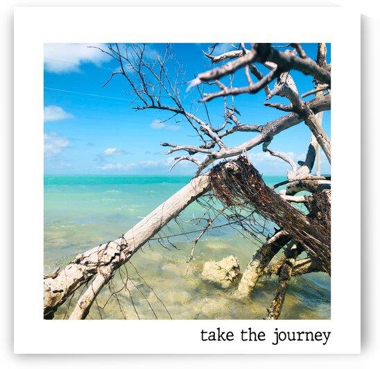 take the journey  by Ana Jones Studio
