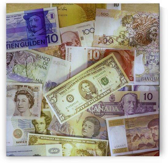 Devises du monde - World currencies by Daniel Ouellette