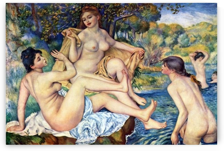 The Large Bathers by Renoir by Renoir