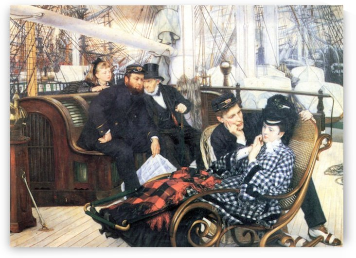 The last evening by Tissot by Tissot