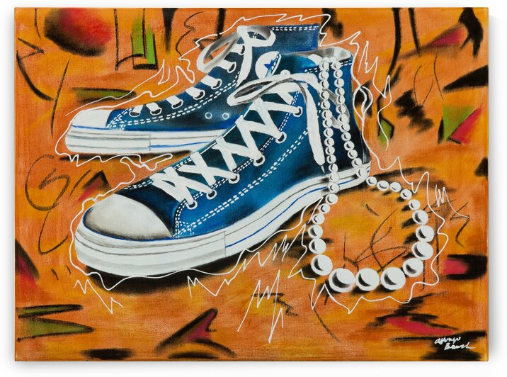 200.012 Chucks and Pearls by SKETCHED PERFECT DESIGNS LLC