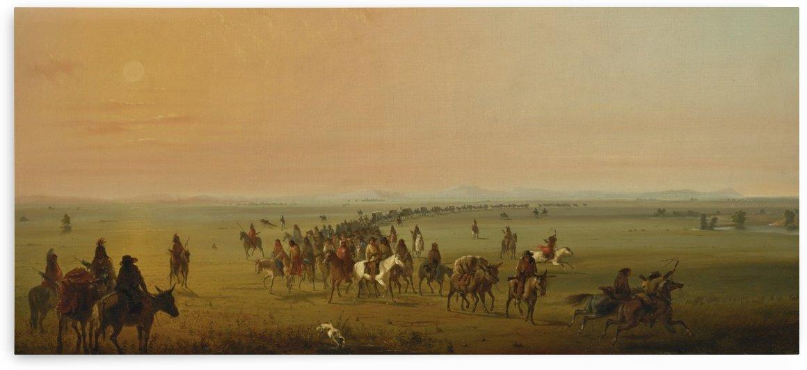 Sir William Drummond Caravan en Route by Alfred Jacob Miller