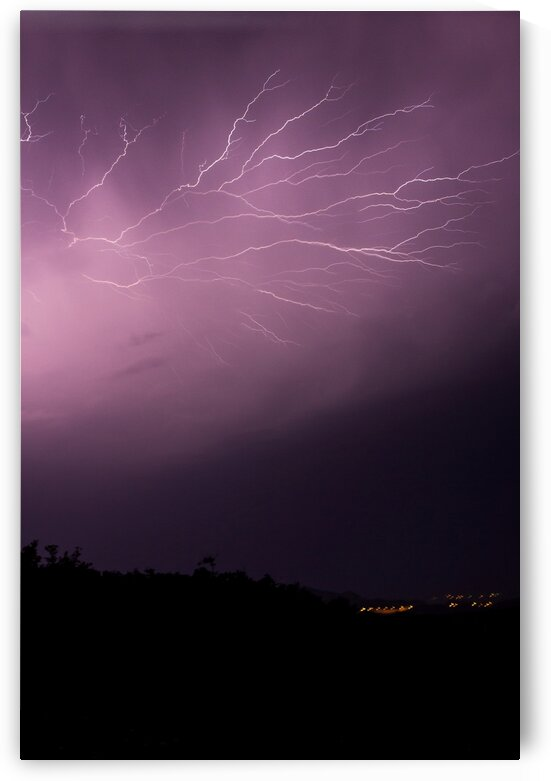 Lightning show by 5280Images