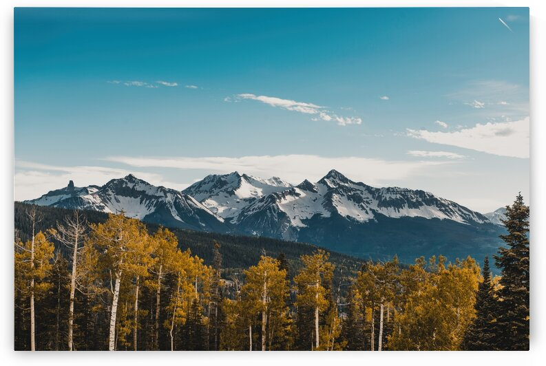 fall colors in the Rockies by 5280Images