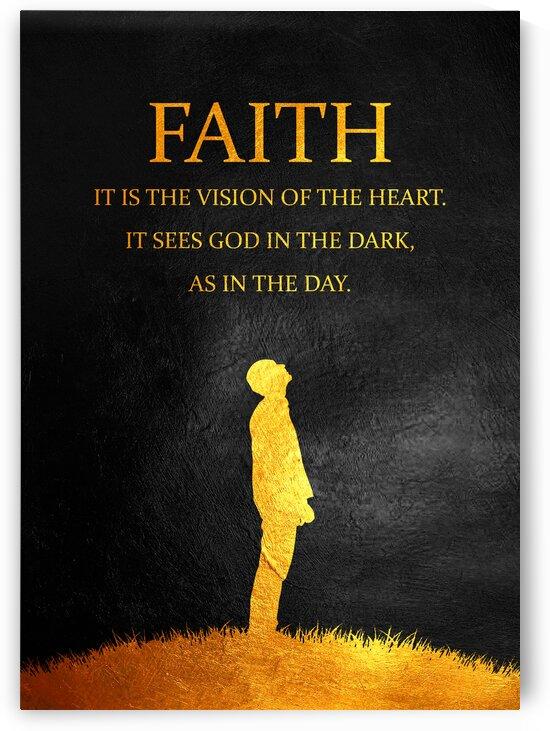 Faith Motivational Wall Art by ABConcepts
