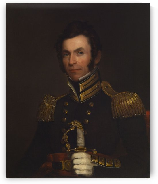 Portrait of Colonel Alexander Smith by Alfred Jacob Miller