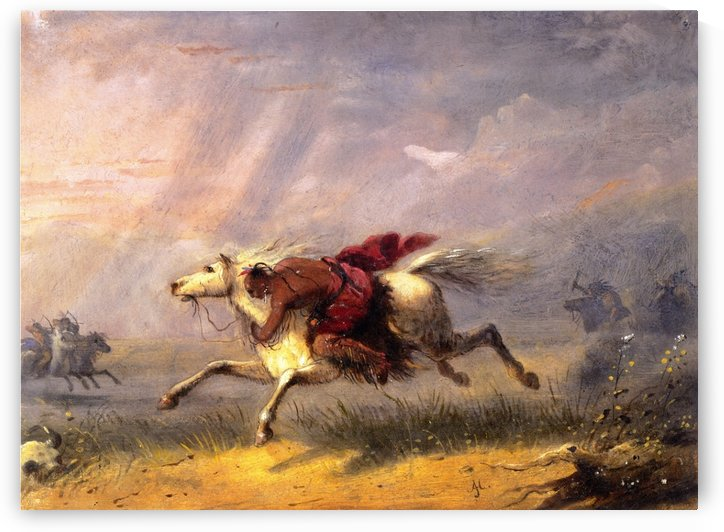 War Path by Alfred Jacob Miller