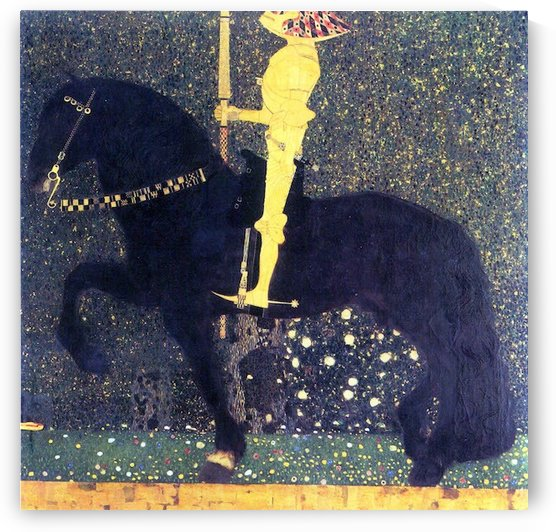 The life of a struggle (The Golden Knights) by Klimt by Klimt