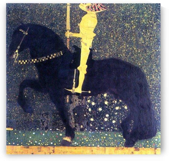 The life of a struggle (The Golden Knights) by Klimt by Klimt
