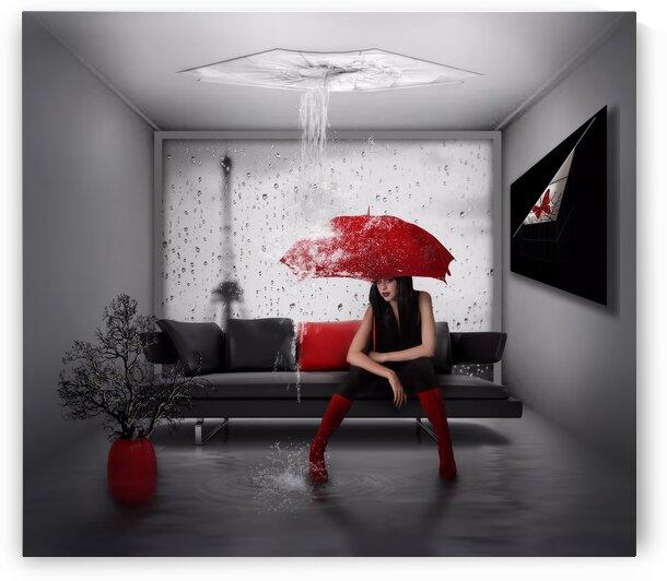 Rain in Paris by Nataliorion
