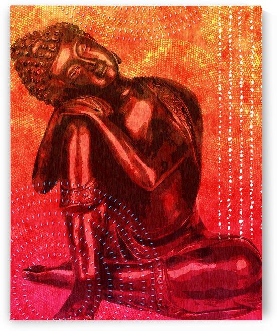 Leaning Buddha 03 by Studio Grafiikka