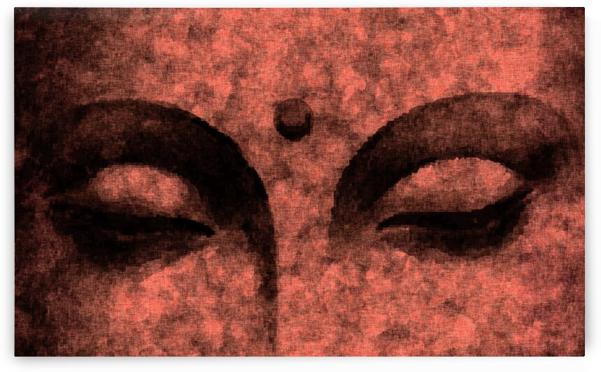 The Inner Sky - Buddha in Meditation 03 by Studio Grafiikka