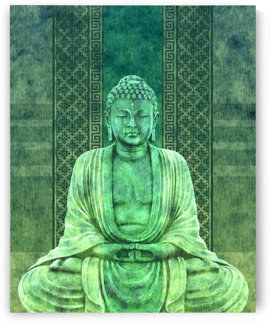 Dhyana - Buddha in Meditation 01 by Studio Grafiikka