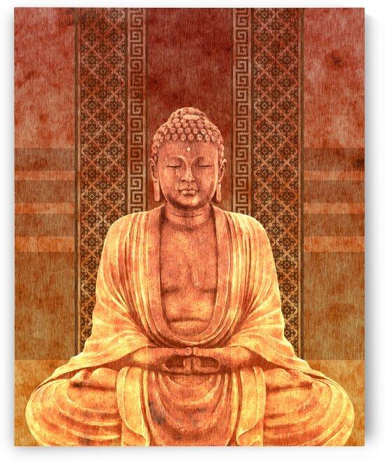 Dhyana - Buddha in Meditation 04 by Studio Grafiikka