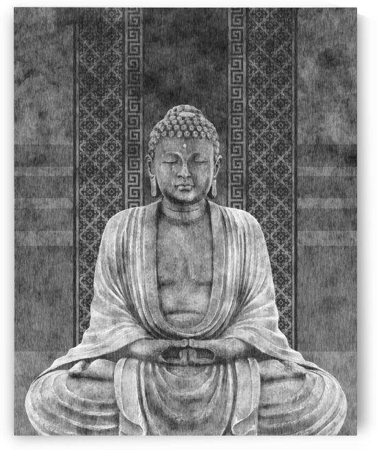 Dhyana - Buddha in Meditation 03 by Studio Grafiikka