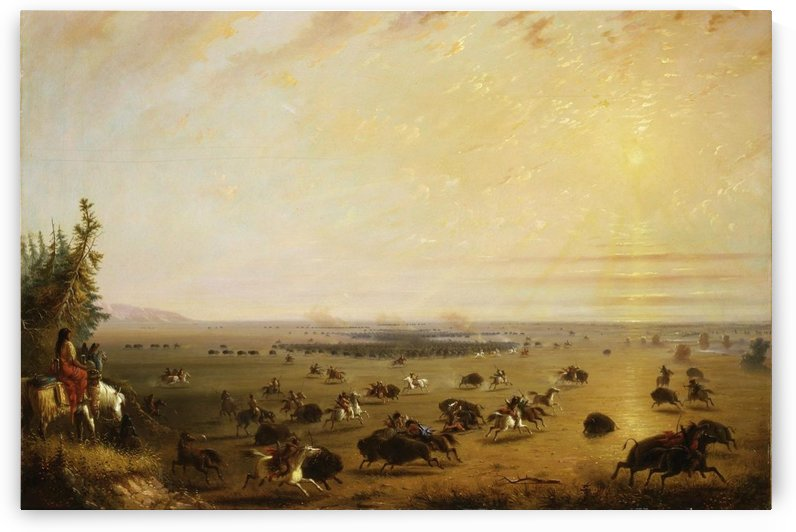 A surround by Alfred Jacob Miller