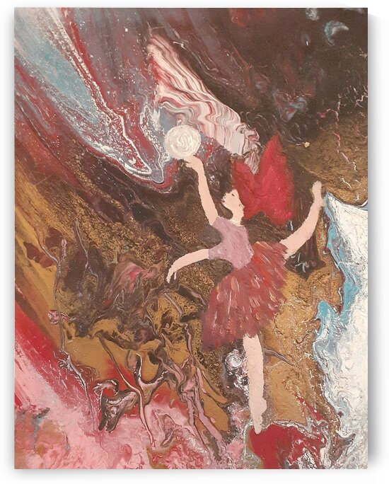 Dancing with the universe  by Claudette Dumais