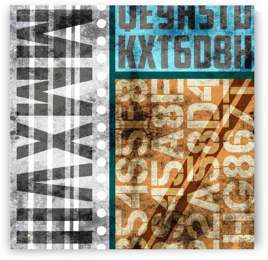 Contemporary Abstract Industrial Art - Panel 8 - MMXVII by Studio Grafiikka